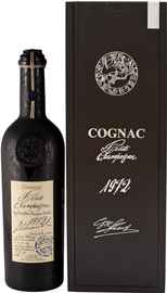 Коньяк французский «Lheraud Cognac 1972 Fins Bois» в деревянной подарочной коробке