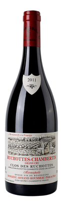 Вино красное сухое «Ruchottes Chambertin Grand Cru Clos des Ruchottes» 2007 г.