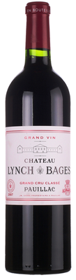 Вино красное сухое  «Chateau Lynch Bages Grand Cru Classe (Pauillac)» 2007 г.