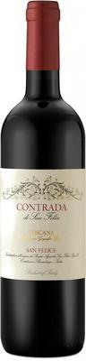 Вино красное сухое «Contrada» 2013 г.