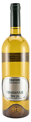 Вино белое сухое «Capannelle Chardonnay Toscana» 2011 г.