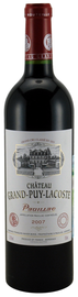 Вино красное сухое  «Chateau Grand-Puy-Lacoste» 2008 г.