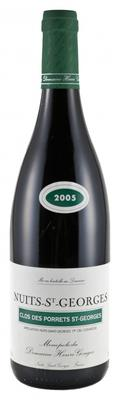Вино красное сухое «Domaine Henri Gouges Nuits-Saint-Georges Premier Cru Clos des Porrets St-Georges» 2005 г.