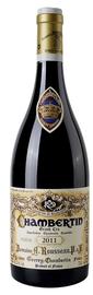 Вино красное сухое «Chambertin Grand Cru» 2002 г.