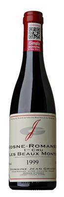 Вино красное сухое «Vosne-Romanee Premier Cru Les Beaux Monts» 1999 г.