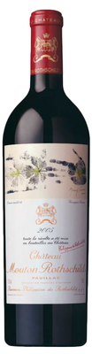 Вино красное сухое «Chateau Mouton Rothschild» 2005 г.