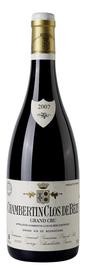 Вино красное сухое «Chambertin Clos de Beze Grand Cru» 2001 г.