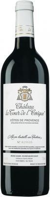 Вино красное сухое «Chateau La Tour de L'Eveque» 2007 г.