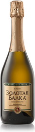 Вино игристое белое полусухое  «Золотая Балка»