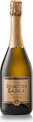 Вино игристое белое полусладкое  «Золотая Балка»