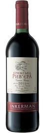 Вино красное полусладкое «Крымская Ривьера»