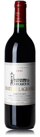 Вино красное сухое «Chateau Lagrange» 1990 г.