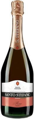 Винный напиток газированный розовый полусладкий «Santo Stefano Rose, 0.375 л»