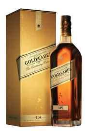 Виски шотландский «Johnnie Walker Gold Label» в подарочной упаковке