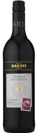 Вино красное сухое «Stamp of Australia Cabernet Sauvignon-Merlot»