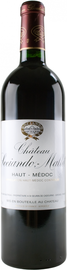 Вино красное сухое «Chateau Sociando Mallet» 2008 г.