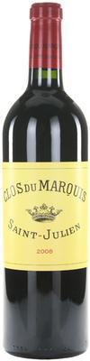 Вино красное сухое «Clos du Marquis Saint-Julien» 2008 г.