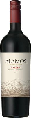 Вино красное сухое «Alamos Malbec» 2012 г.
