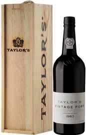 Портвейн «Taylor's Vintage» 1983 г., в подарочной упаковке