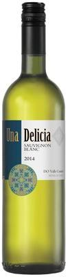 Вино белое сухое «Una Delicia Sauvignon Blanc» вино с защищенным наименованием места происхождения