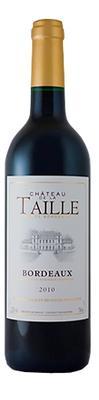 Вино красное сухое «Chateau De La Taille» вино с защищенным наименованием места происхождения