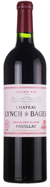 Вино красное сухое «Chateau Lynch Bages Pauillac AOC 5-eme Grand Cru» 1997 г.