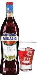Напиток винный красный «Millagio Rosso»