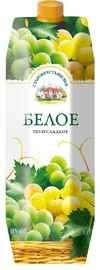 Винный напиток белое полусладкое  «Старокрестьянское (Тетра Пак)»
