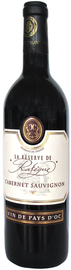 Вино красное полусладкое «Reserve de la Rafegue Cabernet Sauvignon» с защищенным географическим указанием ДОК