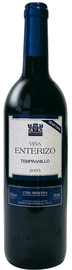 Вино красное полусухое «Vina Enterizo Tempranillo»