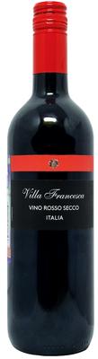 Вино столовое красное сухое «Villa Francesca»