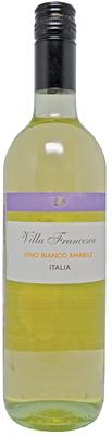 Вино столовое белое полусладкое «Villa Francesca»