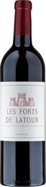 Вино красное сухое «Les Forts de Latour» 1975 г.