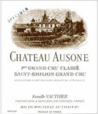 Вино красное сухое «Chateau Ausone Saint-Emilion 1er Grand Cru» 1989 г.