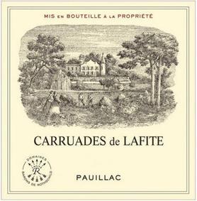 Вино красное сухое «Carruades de Lafite» 2005 г.