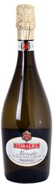 Вино игристое белое полусладкое «Coralba Prestige Moscato »