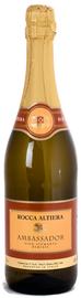 Вино игристое белое полусухое «Rocca Altiera Ambassador»