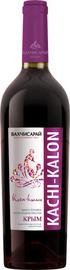 Вино столовое красное полусладкое «Бахчисарай Качи-Кальон»