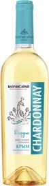 Вино столовое белое сухое «Бахчисарай Шардоне»