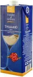 Вино белое сухое «Trebbiano Terre di Ghiaia (Tetra Pak)»