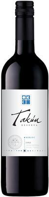 Вино красное сухое «Caliterra Takun Merlot Reserva» 2013 г.