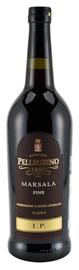 Вино белое полусладкое «Pellegrino Marsala Fine I.P.»