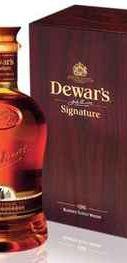 Виски шотландский «Dewar's Signature» в подарочной упаковке