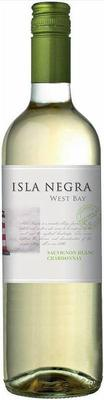 Вино белое полусухое «Isla Negra West Bay Sauvignon Blanc - Chardonnay» 2015 г.