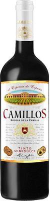 Вино столовое красное полусладкое «Camillos»