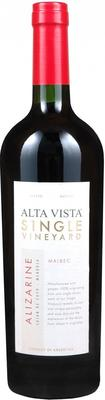 Вино красное сухое «Alta Vista Single Vineyard Alizarine Malbec» 2010 г.