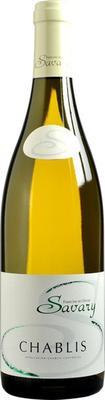 Вино белое сухое «Petit Chablis Savary, 0.375 л» 2014 г.
