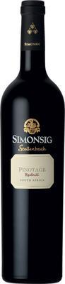 Вино красное сухое «Simonsig Redhill-Pinotage» 2013 г.