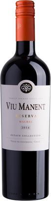 Вино красное сухое «Viu Manent Estate Collection Reserva Malbec» 2014 г.