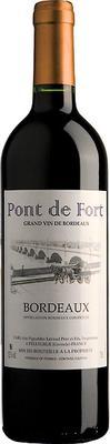 Вино красное сухое «Pont de Fort Bordeaux» 2015 г.